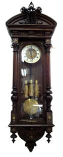 グスタフ・ベッカー Gustav Becker 柱時計の写真3